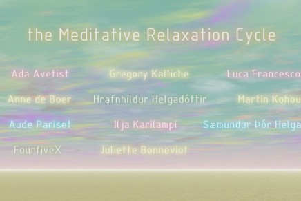 THE MEDIATIVE RELAXATION CYCLE by ELOISE BONNEVIOT