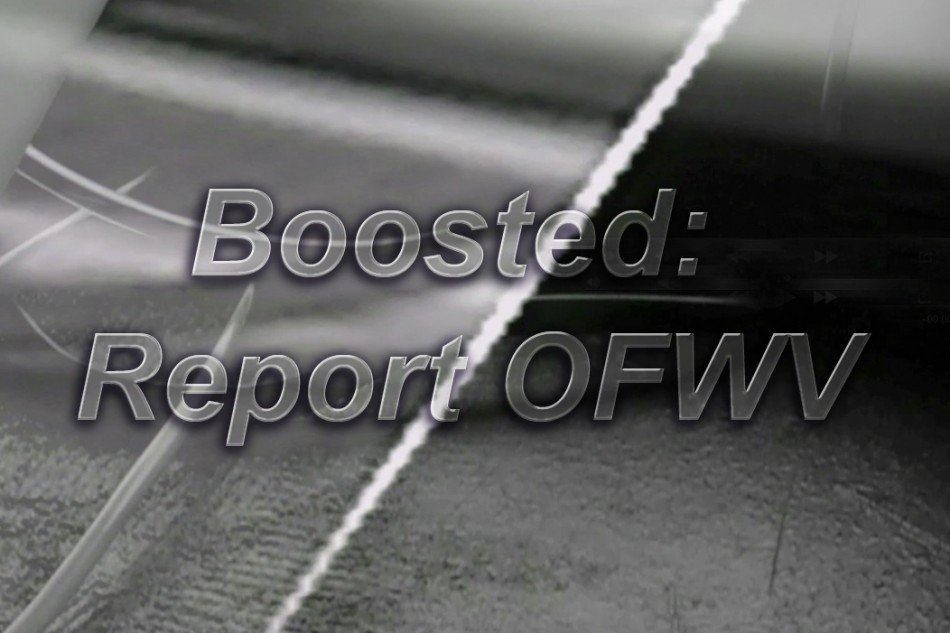 BOOSTED: REPORT OFWV by MARTIN KOHOUT