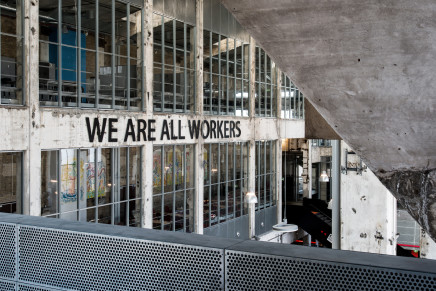 WE ARE ALL WORKERS by Mikkel Carl @ Kunsthal Nord