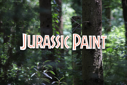 JURASSIC PAINT by New Scenario