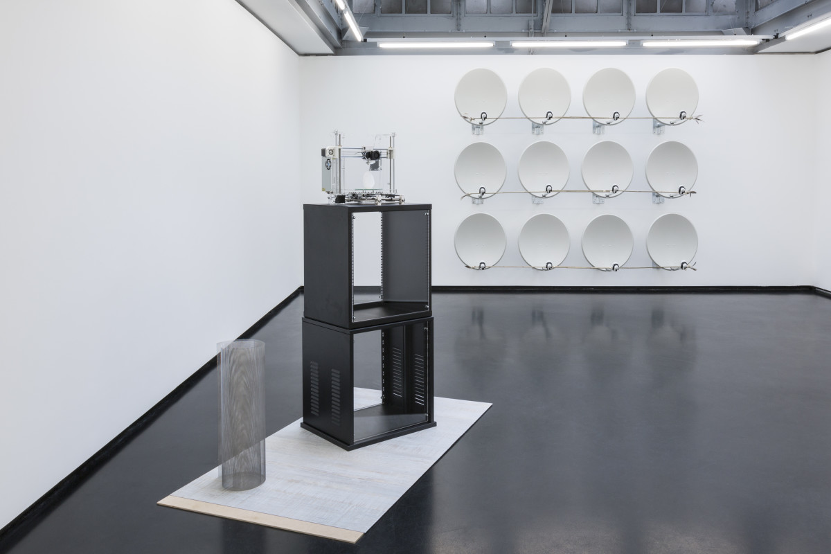 Transcom Primitive, show by Pierre Clément at XPO Gallery. Opening on Octobre 22, 2015. © vinciane verguethen/voyez-vous