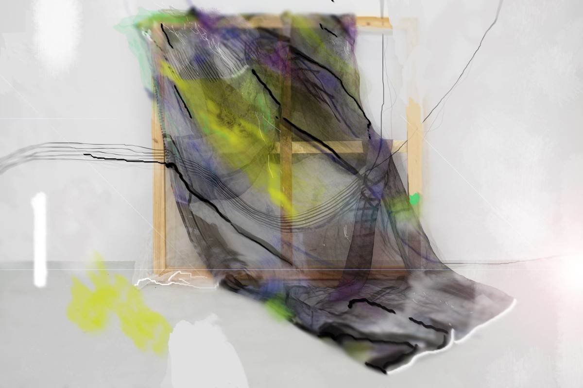 TCR_Windoes_Giovanna Olmos, Windoes (Edited documentation image 01, with Yanyan Huang, 'Among all possible ghosts', 2015), 2015